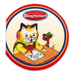 Richard Scarry's Busytown Notepads (8), 79683