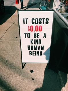 Cost=nothing