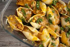 - taco stuffed shells. :)