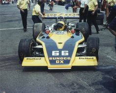 Mark Donohue - Eagle 72 [7225] Offenhauser 159 ci turbo - Penske Racing - International 500 Mile Sweepstakes - 1973 USAC National Championship Trail, round 4