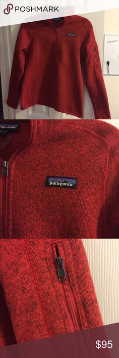 Red Patagonia Better Sweater Red, brand new never worn Patagonia pullover. Perfect condition, no pulling Patagonia Jackets & Coats