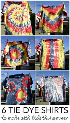 A couple of weeks ago, I tie-dyed t-shirts with my son as an afternoon time-killer. We had a lot of fun doing it because it was easy (no seriously -- it rea