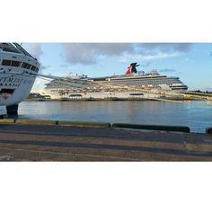Awesome shot of Carnival Splendor sent in by @ds9gx7 ! #carnivalcruiseline #carnivalcruise #carnival #splendor #carnivalsplendor #funship #ccl #cruise #ship #cruiseship #cruisingislife