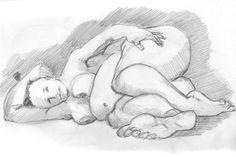 Recherche femmes rondes à très rondes pour nus artistiques en dessin