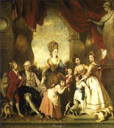 1777-1778 Joshua Reynolds The Marlborough Family