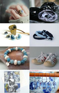 Blue clouds by Nina on Etsy--Pinned with TreasuryPin.com