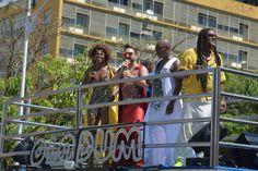 Olodum no carnaval de Salvador 2016