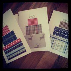 Joulukortit '2013 Christmas Cards, Greeting Cards, Fall, Crafts, Xmas Greeting Cards, Autumn, Manualidades, Fall Season, Xmas Cards