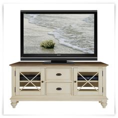 """Coventry Two-Tone 65"""" TV Stand"""
