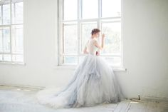 pure romance, a 3 piece tulle gown, bodysuit petticoat and tulle skirt $1650.00 carouselfashion@etsy comments:gemjunkiejewels