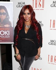 snooki, love the hair color