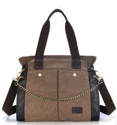 9695fb775eda1 HANYUN new winter cotton canvas shoulder messenger bag big retro fashion  bags handbags Students t2049 Modne
