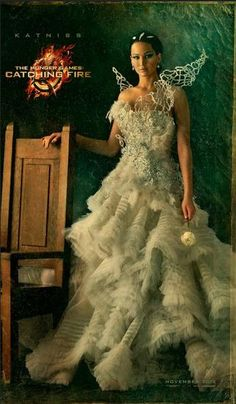 Katniss Couture Portrait #hunger #games #catching #fire