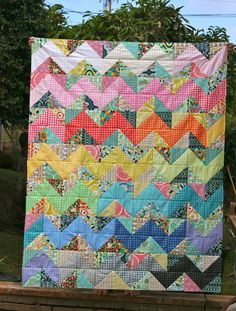 Carnaby Street Quilt by Amber of One Shabby Chick