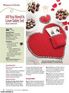 valentine table craft set