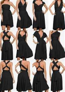 Multi Wrap Infinity Wear Convertible Dress.  LOVE IT!  Great for all shapes and sizes.  $70.00