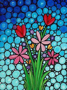 Spring Splendor Painting  - Spring Splendor Fine Art Print