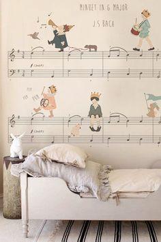 Niepowtarzalne tapety do pokoju dziecka
