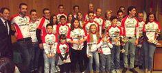 La Escuela de Ciclismo Sexitana consigue una docena de podios en la Gala Provincial