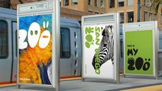 Gorgeous, playful branding for San Diego Zoo