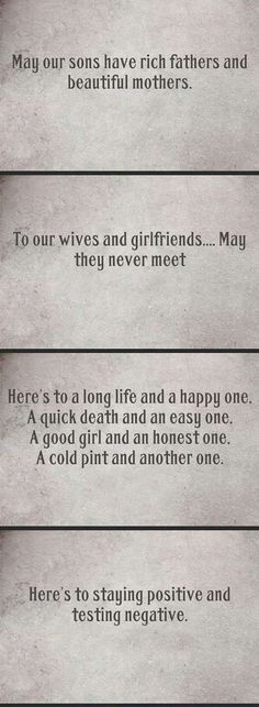 Some Creative Toasts - YES! The last one made me lol