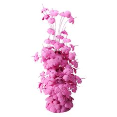 "Michel Froment, ""Pink Jungle"" Polythylene and Steel Handmade Sculpture."