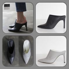 Sonn at Pocobello.se  Material: Leather upper Color: Black, Gray, Any other color Width: Narrow, Medium(standard), Wide Platform/Heel: 0cm/9cm(basic)