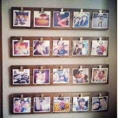 Photo Wall Ideas - 37 Picture Gallery Wall Layout Ideas For The Perfect Family Photograph Accent Wall Hanging Pictures On The Wall, Hanging Photos, Hang Pictures, Photo Hanging, Family Pictures, Diy Wall, Wall Decor, Room Decor, Gallery Wall Layout