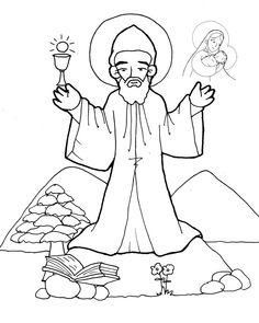 Najlepsze Obrazy Na Tablicy Swieci Kolorowanki Saints