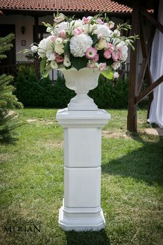 Flowers for the wedding ceremony