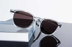 The ARTHUR - This frame is based on The LEMTOSH silhouette, but with a slimmed down look, a thinner gauge, and a key hole bridge that's just a bit more business. They say not to mix business with pleasure, but we couldn't help ourselves. Men Sunglasses Fashion, Best Mens Sunglasses, Stylish Sunglasses, Sunglasses Accessories, Clear Sunglasses, Lunette Style, Mens Hairstyles With Beard, Fashion Shoes, Mens Fashion