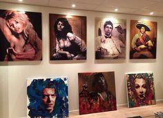 Schilderijen Peter Donkersloot  Excellent Art Utrecht - Holland