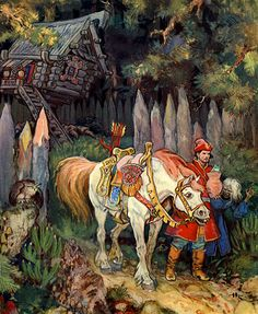 Photo of Russian Fairy Tales for fans of Fairy Tales & Fables. I love russian fairy tales .they r really really awesome and soo sweet ! Russian Folk, Russian Art, Russian Culture, Art And Illustration, Fairy Tale Illustrations, Botanical Illustration, Art Du Temps, Classic Fairy Tales, Vintage Fairies