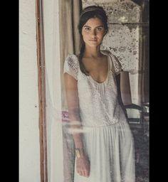 Robe de Mariée 2015 : la robe manches courtes Laure de Sagazan