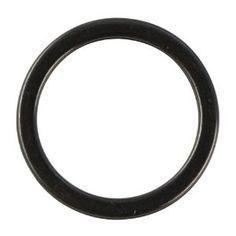 RAYHER - Schmuckring, Metall, flach, 15 mm ø, lose, schwarz 0,70€ Fitbit Flex, Metal, Black
