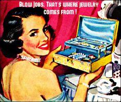 Retro woman jewelry