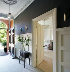 ambient architecture are Dublin architects with a dedication to contemporary design. We specialise in one-off houses, extension and renovations for private clients. 1930s House Interior, Victorian House Interiors, Georgian Interiors, Interior Walls, Victorian Townhouse, Interior Ideas, Modern Victorian Homes, Modern Georgian, Georgian Homes