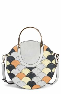 e1b7f8b5124f Chloé Maxi Pixie Studded Scales Calfskin Leather Top Handle Satchel Your  Back