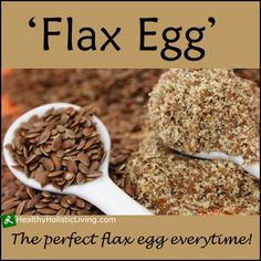 Are you looking for an egg substitute for your recipes? Try flax egg.