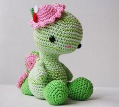 Patrón de amigurumi Miss Dragon por pepika en Etsy