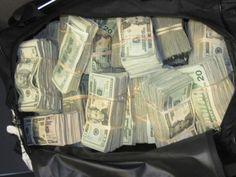 Drug Money | ... bag stuffed with nearly $500,000 in undeclared money, officials said