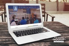 IAMI MacAir Website Mockup
