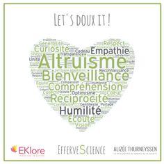 Eklore Altruisme let's doux it Alizée Thurneyssen