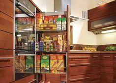 Szafki cargo - mała kuchnia