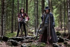 Van Helsing and Anna Valerious cosplay - Woods by ilPas.deviantart.com on @deviantART