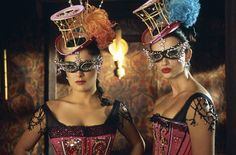 Salma Hayek and Penelope Cruz in Bandidas - a cute flick with some awesome costumes!