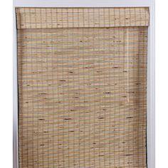 Mandalin Bamboo Roman Shade (31 in. x 54 in.)