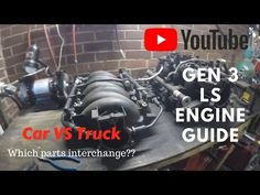 Disclaimer: Guys, I didnt invent the LS engine, this video is just intended to clear up some of the muddy information ive gotten over time. Ive done my best . Ls Engine Swap, Engine Block, Car Engine, American Muscle Cars, American Pie, Ls Swap, Cool Garages, Lowered Trucks, Truck Accessories