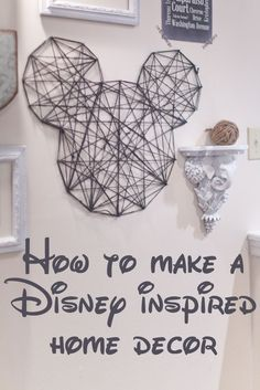158 best disney home decor images in 2019 disney crafts rh pinterest com