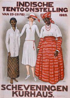 Indische tentoonstelling kurhaus scheveningen 1922
